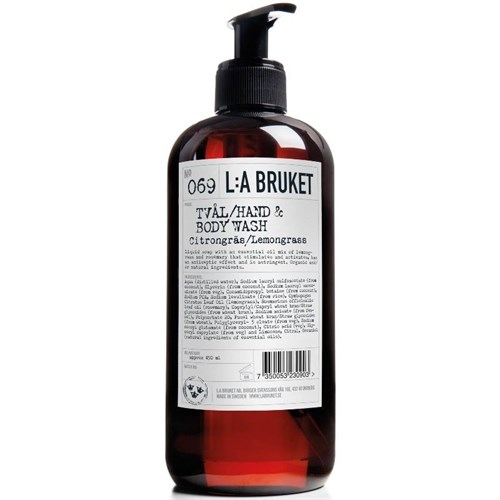 L:A Bruket Hand Body Wash Lemongrass