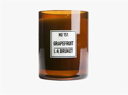 L:A Bruket Scented Candle Grapefruit