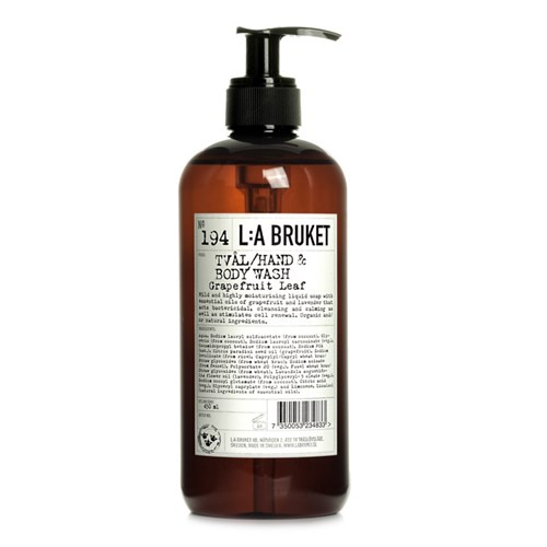 LA:Bruket // Bodylotion no. 193 - Grapefruit Leaf,  250 ml.
