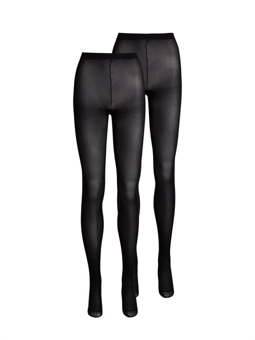 Pieces Nikoline 40 Den 2 Pack Tights Noos