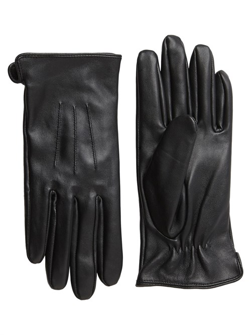 Pieces // Nellie Leather Gloves