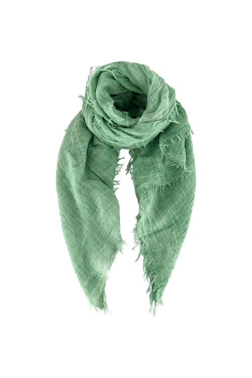 Black Colour // Taya Basisscarf - Green