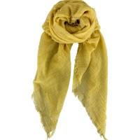 Black Colour // Taya Basisscarf - Yellow