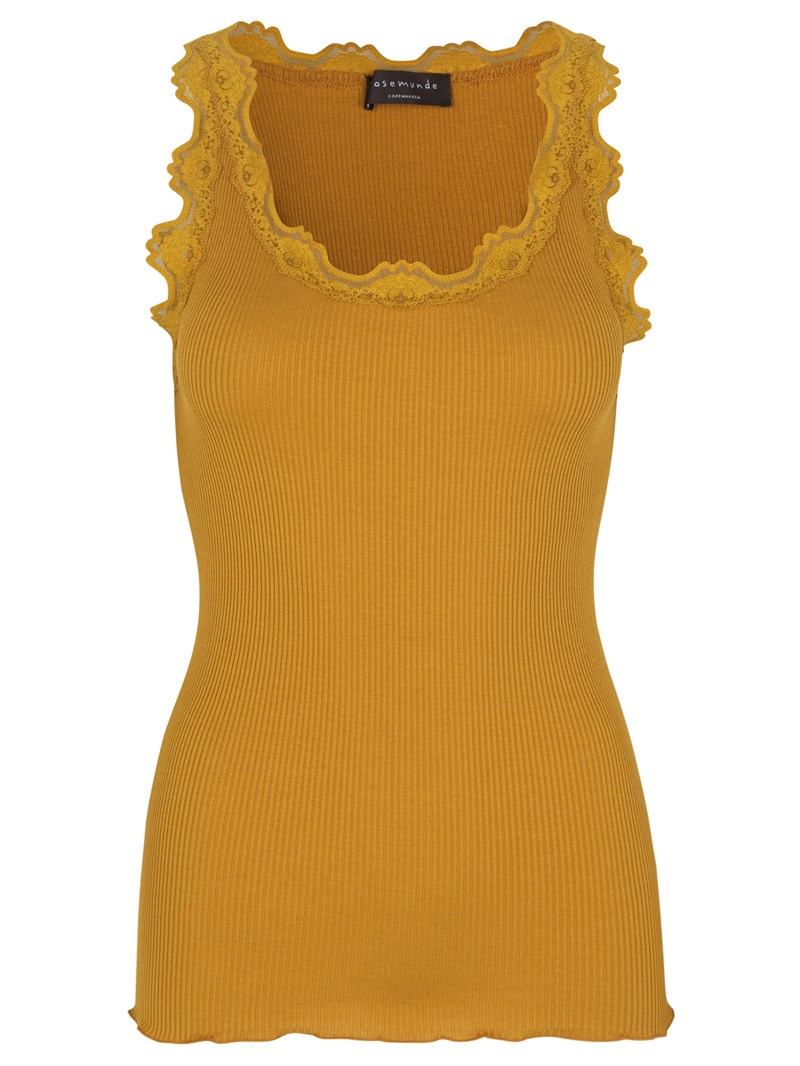 Rosemunde // Silk Top Regular - Golden Mustard