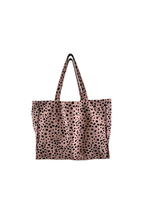 Black Colour My Big Shopper Bag - Rose