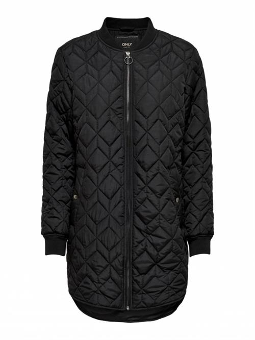 Only Allison Quilted Long Bomber