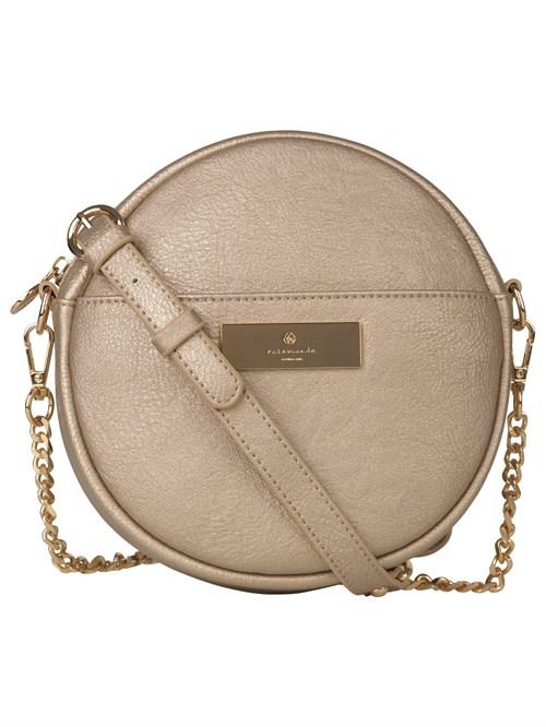 Rosemunde Round Bag Golden Gold