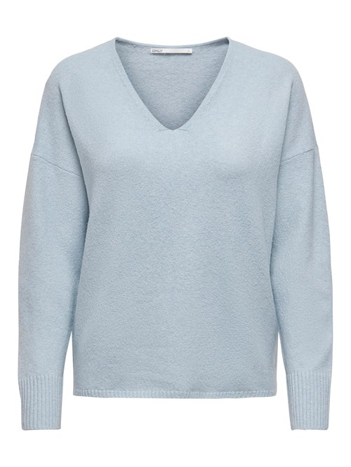 Only Rica Life L/S V-Neck Knit Noos