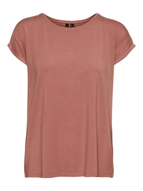 Vero Moda Lava Plain SS Top Lurex