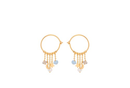 Pernille Corydon Dream Hoops Forgyldt 18 mm