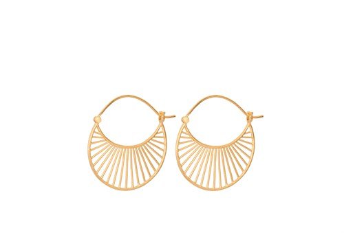 Pernille Corydon Large Daylight Earrings Gold