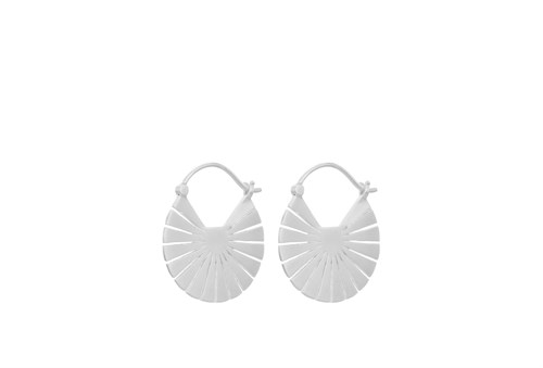Pernille Corydon Flare Earrings 23mm Sølv